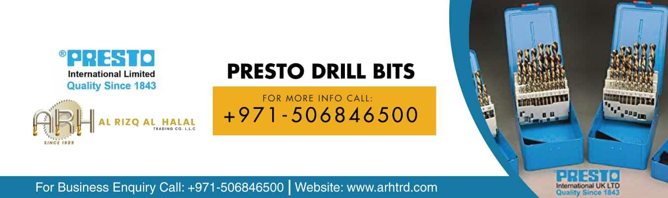 presto drill bits